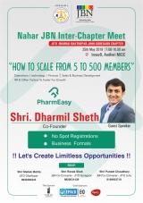 JITO Ghatkopar-Goregaon-Juhu Chapter : Nahar Inter Chapter JBN Meet