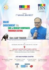 1st Nahar JBN Meet - JITO Navi Mumbai Chapter