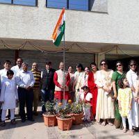 Flag Hoisting Ceremony - Raipur