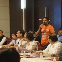 JBN with Mr. Chakor Gandhi - JITO Nashik 11.