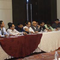 JBN with Mr. Chakor Gandhi - JITO Nashik 8.