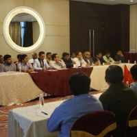 JBN with Mr. Chakor Gandhi - JITO Nashik 9.