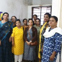 JITO BELGAUM LADIES WING CONTINUES TO DONATE SANITARY NAPKIN DISPOSABLE & VENDING MACHINE