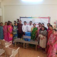 Donation of Disposal Machine - Belgaum Ladies wing