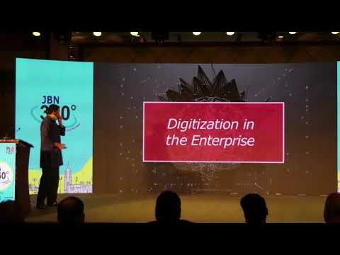 Winning the Digital World Session @ JBN360 by Sri Mohandas Pai